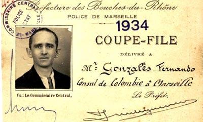 Fernando González Ochoa - Cónsul en Marsella
