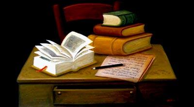 Fernando Botero - Naturaleza muerta con libros