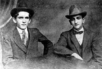 Fernando González y Fernando Isaza - Circa 1915