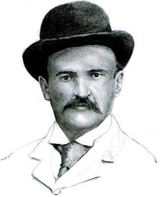 Tomás Carrasquilla (1858 - 1940) / Ilustración por Daniel Gómez Henao