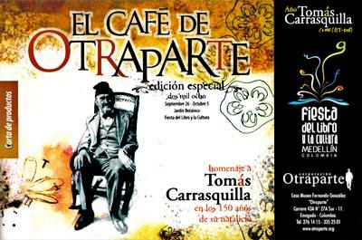 El Café de Otraparte en la Fiesta del Libro y la Cultura 2008