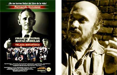 Fernando González - Velada Metafísica: Matacandelas obtiene Premio Nacional de Dirección a Montaje Teatral
