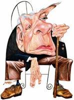 Jorge Luis Borges / Salón Mundial del Cómic / Fernandez - Brasil