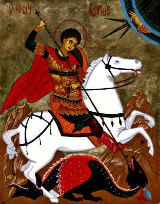 San Jorge y el dragón - Olgachristine.com