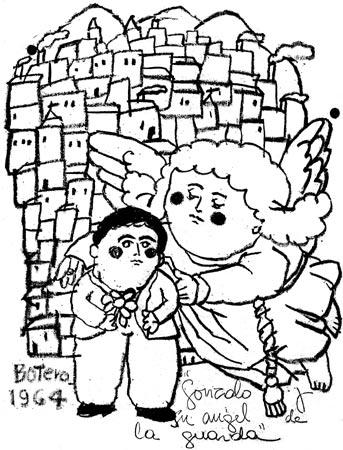 Gonzalo Arango Arias - Ilustración por Fernando Botero