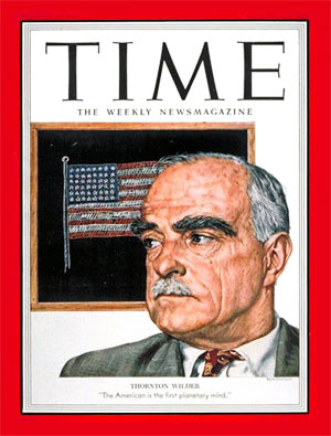 Thornton Wilder en Time Magazine