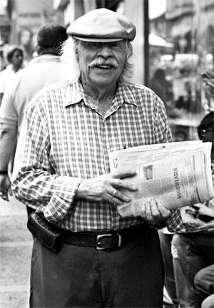 Alberto Aguirre (1926 - 2012) - Fotografía por Julián Roldán Alzate