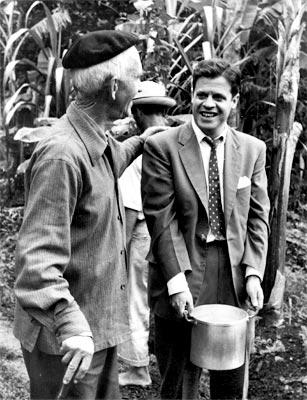 Alberto Aguirre, Fernando González, Manuel Mejía Vallejo y Carlos Castro Saavedra