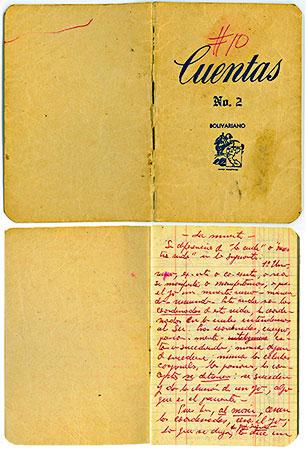 Libreta de Fernando González