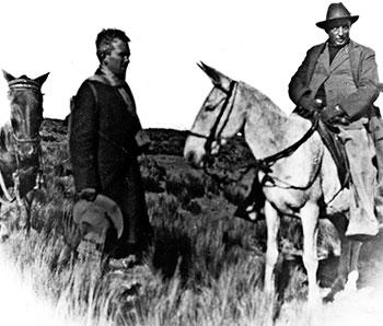 Fernnado González y don Benjamín Correa