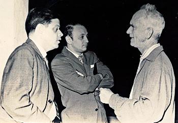 Alberto Aguirre, Óscar Hernández y Fernando González