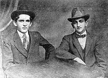 Fernando González y Fernando Isaza - c. 1915