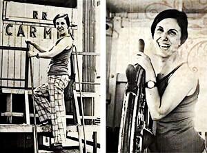 "Aura López (1933 - 2016) - Fotograma del documental ""Aura"" de César Augusto Montoya"