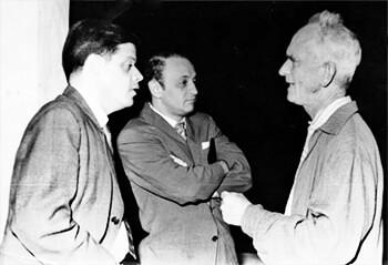 Alberto Aguirre, Óscar Hernández Monsalve y Fernando González