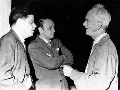 Alberto Aguirre, Óscar Hernández y Fernando González (circa 1959).