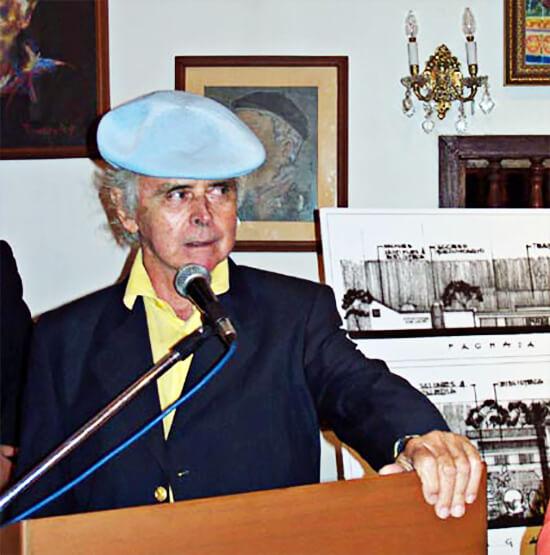 Simón González en la Casa Museo Otraparte (2002)
