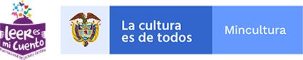 Logo del Ministerio de Cultura y su programa «Leer es mi Cuento»