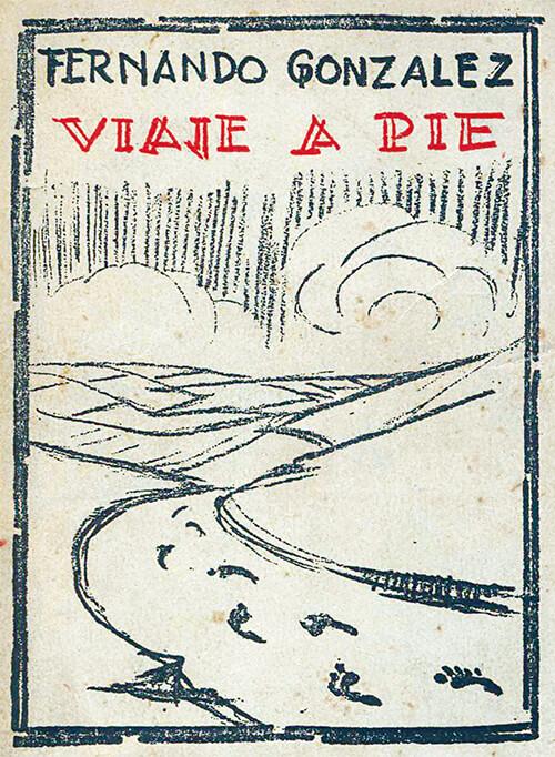 Portada original de «Viaje a pie» (1929)