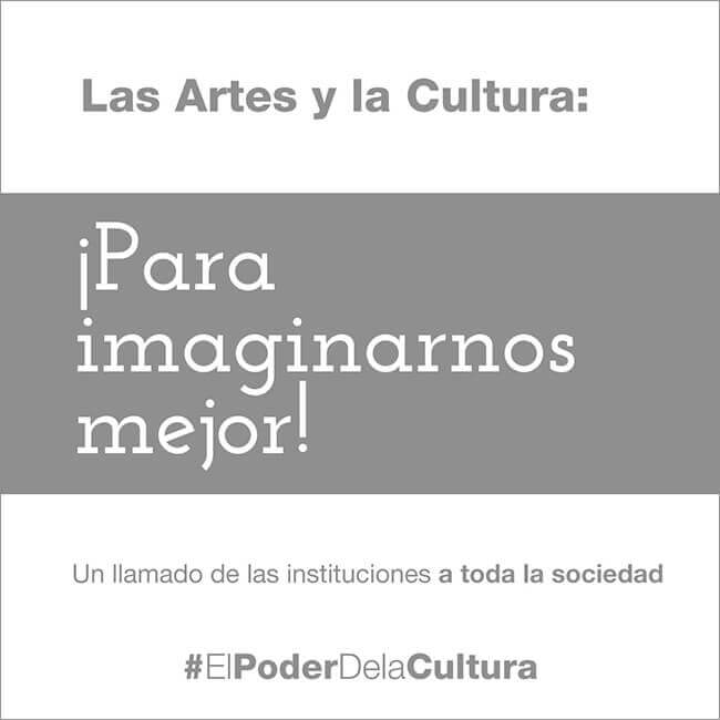 Manifiesto «El poder del arte y la cultura»