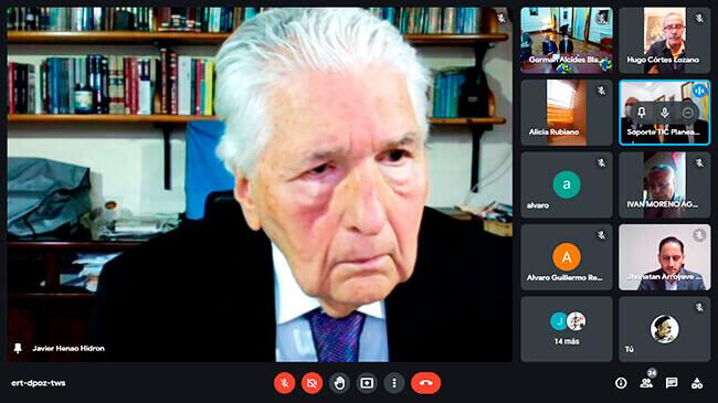 Javier Henao Hidrón recibe la Orden de la Democracia Simón Bolívar - Grado Cruz Gran Caballero