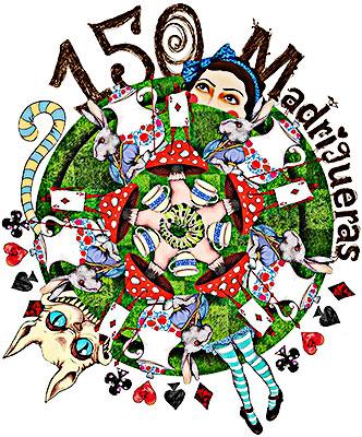 """150 madrigueras en Otraparte - Celebración de los 150 años de la publicación de """"Alicia en el país de las maravillas"""" de Lewis Carroll"""