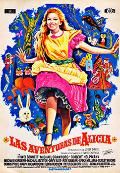 """Las aventuras de Alicia"" - William Sterling, 1972"