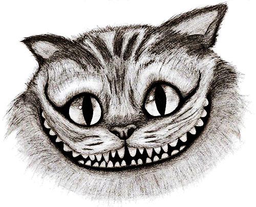 """""""Gato sonriente"""" por CigaroSG"""