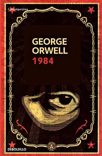 Portada del libro «1984» de George Orwell