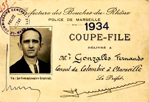 Fernando González - Consul de Colombie á Marseille