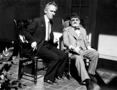 Fernando González y Tomás Carrasquilla.