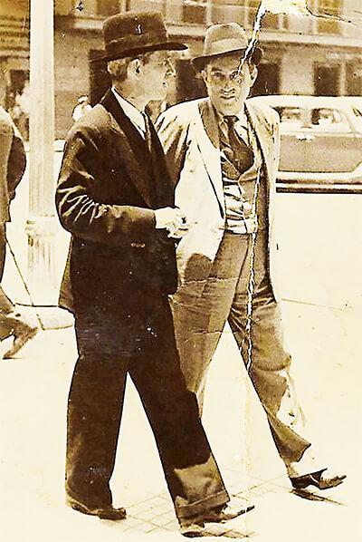 Fernando González y Benjamín Correa
