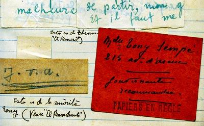 Cuaderno de recortes de Fernando González y Margarita Restrepo