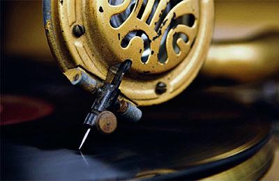 Audiciones en discos de 78 r.p.m.