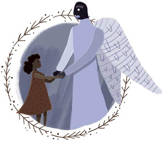 Ilustración de Fabio Esteban Parra Rodríguez para el libro de cuentos «Al otro lado del túnel» de María Alejandra García Hernández