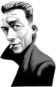 Albert Camus (1913 - 1960) - Ilustración por Fernando Vicente