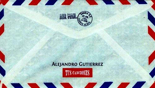 """""""Tus Canciones"""" - Alejandro Gutiérrez"""