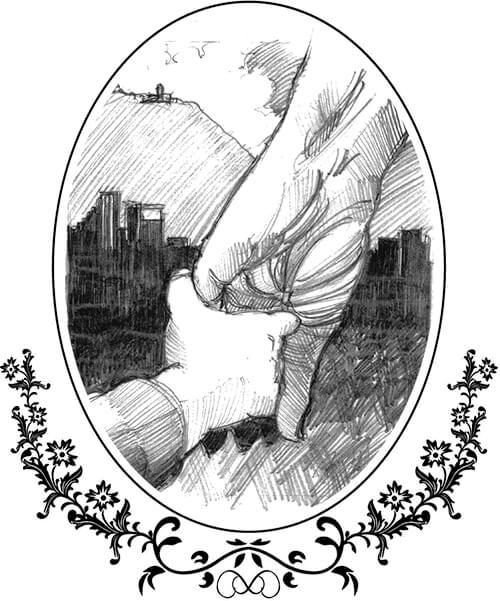 Ilustración del libro «Almanaque Bristol 1987» de Alejandro Cortés González