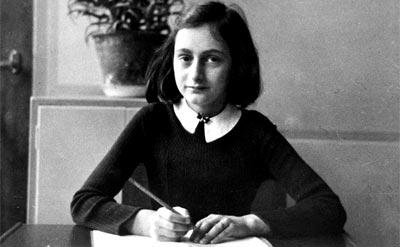 """Annelies Marie """"Anne"""" Frank (1929 - 1945)"""