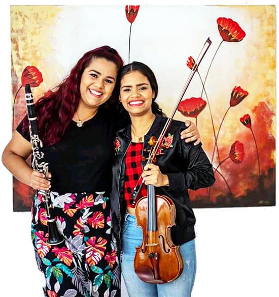 Ana Vilera y Orietta Hermoso