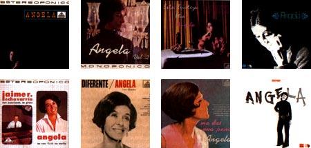 Discografía de Ángela Suárez (1925 - 2006)