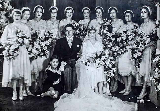 Fotografía del proyecto patrimonial Hábitat Latente - Matrimonio de Juan Olano Moreno y Julia Obregón Pochet