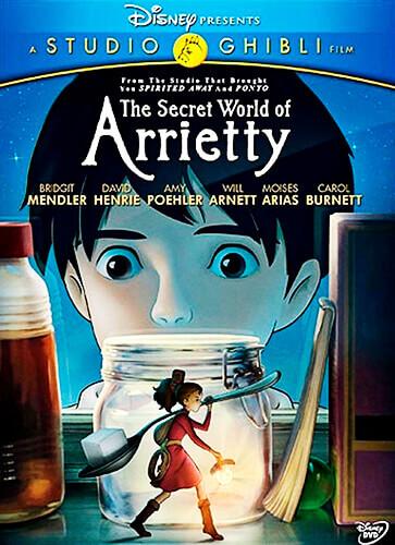 Arrietty y el mundo de los diminutos - Hiromasa Yonebayashi