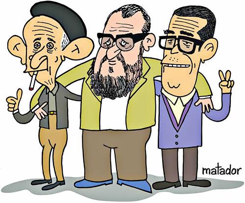 Fernando González, Estanislao Zuleta y Danilo Cruz por Matador