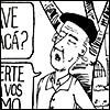 Caricatura de Fernando González por Diego Roldán