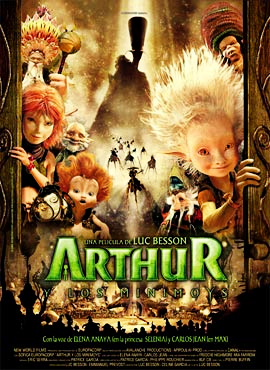 Arthur y los Minimoys - Luc Besson