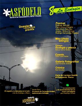 Portada Revista Asfódelo N° 8