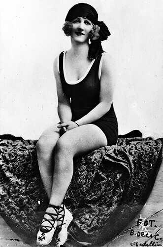 Blanca Isaza de Jaramillo Meza - Foto Benjamín de la Calle, 1926, Biblioteca Pública Piloto