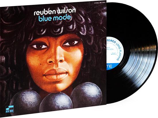 Carátula del disco «Blue Mode» de Reuben Wilson - Blue Note Records