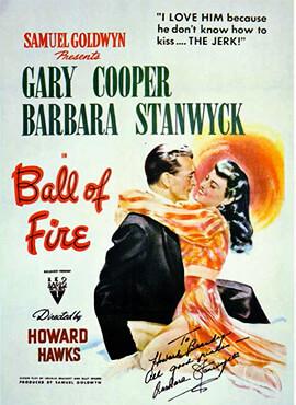 Bola de fuego - Howard Hawks