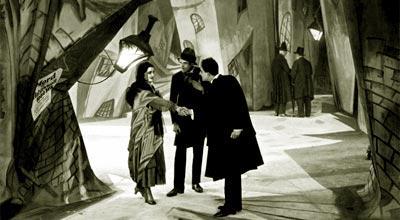"""El gabinete del doctor Caligari"" de Robert Wiene (1919)"